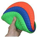 SchwabMarken Weiche Hunde Frisbee/Dog Frisbee Disc, 1 Stück, bunt gemischt, Durchmesser ca. 23 cm in verschiedenen Farben und Mengen