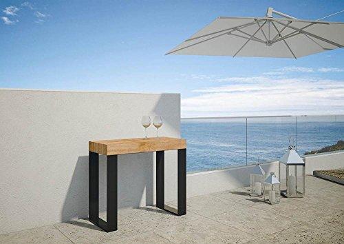 Console extensible pour extérieur, table de jardin