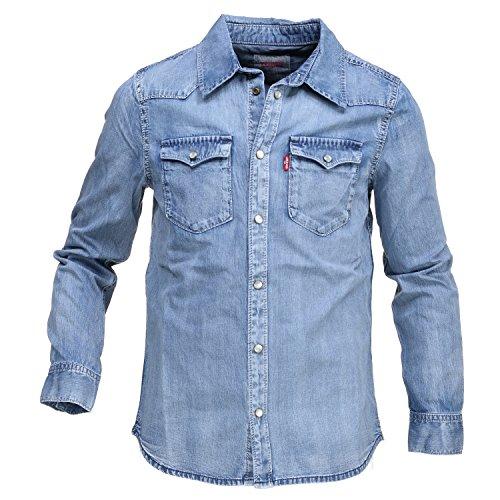 Levi's camicia jeans barst denim (12 anni)