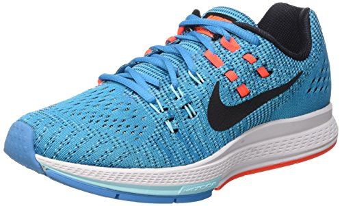 Nike W Air Zoom Structure 19, Calzado Deportivo para Mujer, Blue Lagoon/Black-Copa, 36.5 EU