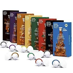 Kaffee-Liebhaber-Box - 6 x 10 BIO Kaffeekapseln von My