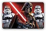 Disney Star Wars 3D Tischunterlagen verschiedene Motive plus Sticker Mitgebsel (6 Stück, Set 2)