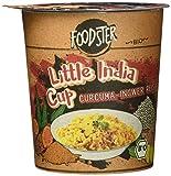 Zamek FOODSTER Little India Cup · Bio-Reis mit indisch-exotischem Geschmack · nur mit kochendem Wasser übergießen und genießen, 8er Pack (8 x 80 ml)