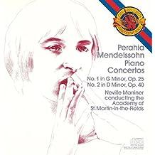 Mendelssohn : Concertos pour piano n° 1 et n° 2 [Import anglais]
