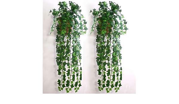 LPxdywlk Plante Artificielle Simulation Asperges Foug/ère Arbuste Feuilles Vertes Partie De Mariage D/écoration De La Maison Ornements