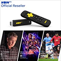 NOW TV Smart Stick with 1 month Entertainment Pass, 1 month Sky Cinema Pass + Sky Sports Day Pass | HD Streaming Media Player – Watch YouTube, Netflix, BBC iPlayer and more