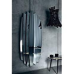 Casa Padrino espejo de diseño de lujo 87 x H. 190 cm - Espejo de Pared de Salón