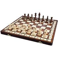 Albatros 2478 - Jeu d'échecs en bois Castilla, 42 x 42 cm