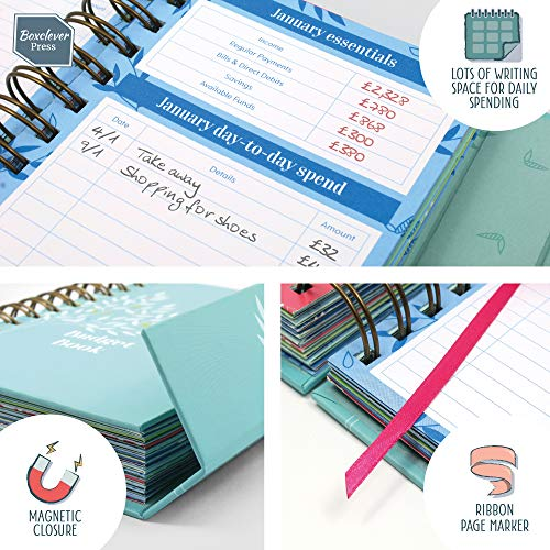Zoom IMG-3 boxclever press budget book diario