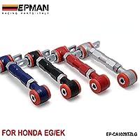 epman nuovo di alta qualità Racing posteriore regolabile Camber armi Kit per 88–01Honda Civic (colore predefinito è rosso) ep-ca1029tzlg