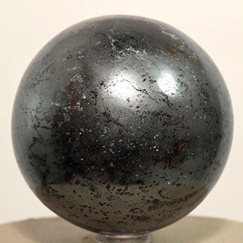 Heilung Kristalle Indien 40–50mm natur Edelstein Kugel Ball Aura Balancing metaphysisch Ball (Hämatit)