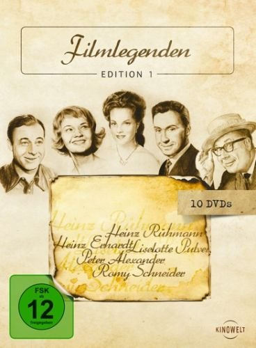 Filmlegenden Edition 1 - Deutsche Stars [10 DVDs]
