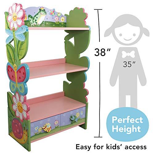 Fantasy Fields KinderMagic Garden KidsHolz-Bücherregal - 10