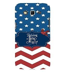 EPICCASE E letter Mobile Back Case Cover For Samsung Galaxy Grand (Designer Case)