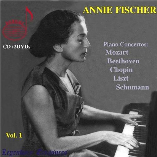 Fischer,Annie Vol.1 2 Dvd+CD