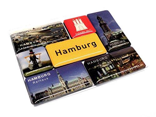 Magnetset Hamburg, 7-teilig