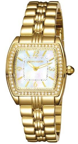Pierre Cardin PC104162F04 - Orologio da polso donna, acciaio inox, colore: oro