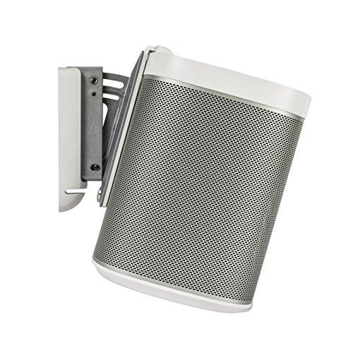 Flexson dreh -und neigbarbare Wandhalterung Sonos Play 1 (1 Stück, weiß) Aav-kabel