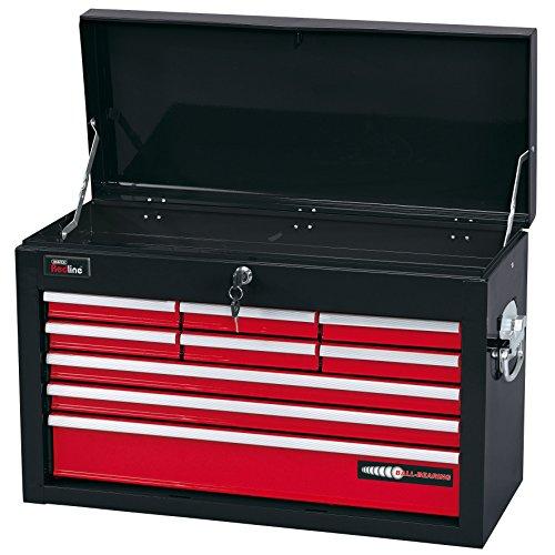 Werkzeugkiste Schubladen Mit (Draper Redline 80599 Werkzeugkasten mit 9 Schubladen)