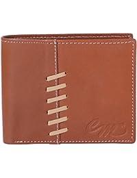 Code MAX Men's Leather Wallet -Tan Colour