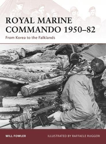 Royal Marine Commando 1950-82 Cover Image