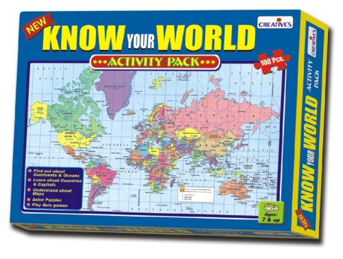 Jigsaw puzzles archives shopping with us creative educational aids 0721 know your world an activity pack gumiabroncs Choice Image