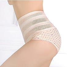 samber materna Abdomen Ropa interior Mujer Alta Cintura Bragas posparto Tummy Control Body Shaper Bragas ropa interior