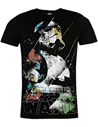 Star Wars Hommes Character Decontracte Col Rond T Shirt Manches Courtes