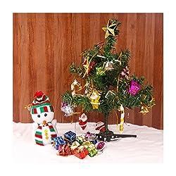 Cute Snow Man with Christmas Tree