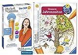 tiptoi Ravensburger Buch | Unsere Jahreszeiten + Ravensburger 007004 Stift Player