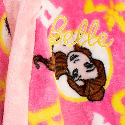 Disney La Bella y La Bestia - Bata para niñas - Belle