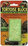 Zoomed Tortoise Calciumblock Kalzium Knabberblock groß / Kaktus-Gemüsemix, 2er Pack (2 x 142 g)