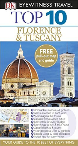 DK Eyewitness Top 10 Travel Guide Florence & Tuscany by DK (2015-03-02)
