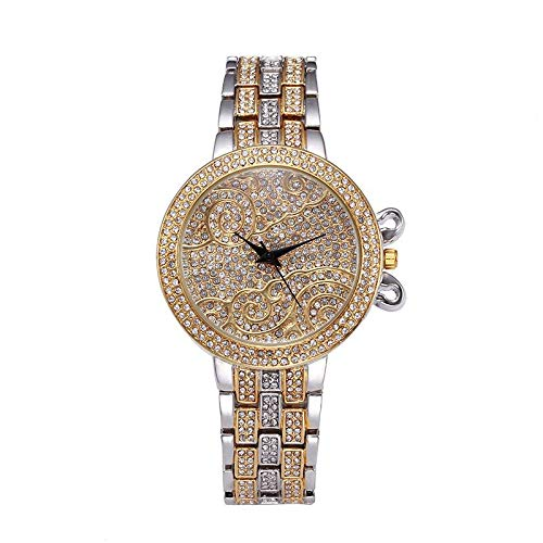 QYYDMISSFOX 37mm Lucky Clouds Rolex Orologi Donna Oro Pieno Diamante Strass Luxury Brand v2023