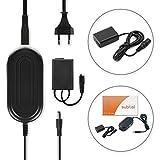 subtel® Alimentation de Qualité Sony Cyber-shot DSC-HX90 / Alpha 7R II, 7S, 6300, 5000 / NEX-5, -7, -6, NEX-C3 - ca. 4m, AC-PW20, 7.6V Adaptateur secteur