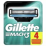 Gillette mach-3Cartridge-Pack de 4