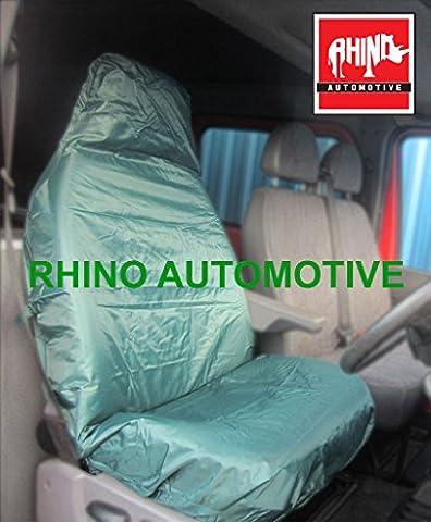Honda Civic Fließheck 95–01Heavy Duty Single Treiber grün wasserdicht Sitzbezug