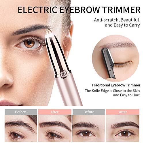 ANLAN Afeitadora Eléctrica Cejas Eyebrow Trimmer Cejas Recortador Flawless Depilador de Cejas