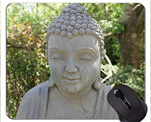 Mausunterlage Anti-Rutsch, Ostbuddha-Statue Freie personalisierte Rechteck-Spiel-Mausunterlagen (Personalisierte Geschenke Hello Kitty)