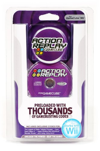 Wii Gamecube Action Replay (Wii compatible) (Gamecube Cheat)