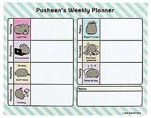 Pusheen Desk Pad Amazon Co Uk Office Products