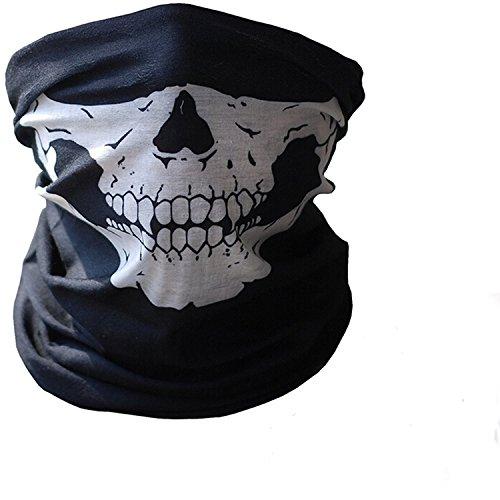 Gosear-Bufanda para cara y cuello - Para motoristas y ciclistas - Dibujo mandíbula