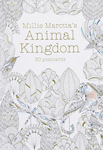 Millie Marotta's Animal Kingdom (Postcard Book): 30 Postcards (Millie Marotta Adult Coloring Book)