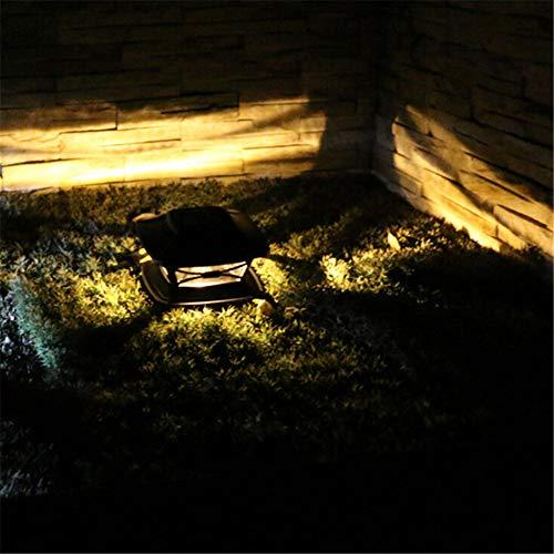 Poste Solar Luz Exterior Decoración De Jardín Luz