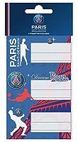 9 Etiquettes scolaires autocollantes PSG - Collection officielle PARIS SAINT GERMAIN - football Ligue 1