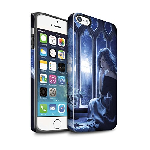 Officiel Elena Dudina Coque / Brillant Robuste Antichoc Etui pour Apple iPhone 5/5S / Pack 7pcs Design / Art Amour Collection Feuilles séchées