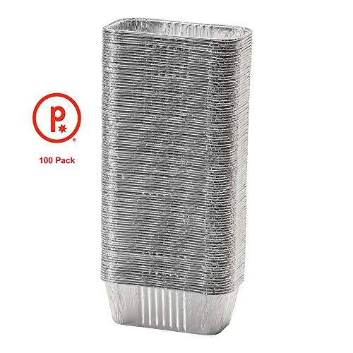 Pinkada Mini-Kastenform, Aluminiumfolie, 15,2 x 8,9 x 5,1 cm, 6