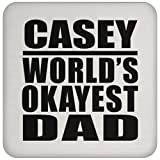 Best Caseys Car Mats - Dad Coaster Casey World's Okayest Dad - Drink Review
