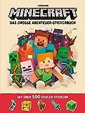 Minecraft, Das gro�e Abenteuer-Stickerbuch Bild