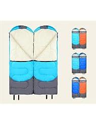 LD-Confort léger Portable facile à comprimer enveloppe Sacs de couchage avec sac de compression